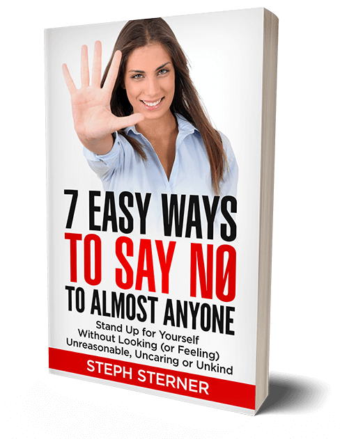 front cover for 7 Easy Ways to Say No book